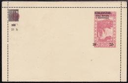 Bosnia SHS, Closed Postcard Stationary, 20 Hel, Unused - 1919-1929 Kingdom Of Serbs, Croats And Slovenes