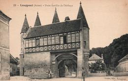 Longpont (Aisne) Porte Fortifiée De L'Abbaye - Edition Godet, Carte N° 19 Non Circulée - France