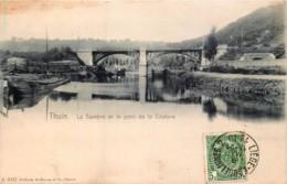 Belgique - Thuin - La Sambre Et Le Pont De La Couture - Edit. Hoffmann N° 4052 - Oblit. AMBULANT - Thuin