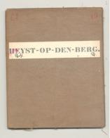 Carte De Géographie Toilée - HEIST / HEYST - OP - DEN - BERG 1869  (b271) - Geographische Kaarten