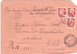 DOTT.JACOPO CIBELE NOTAIO VICENZA - 1900-44 Victor Emmanuel III
