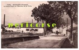 88  Bussang  Le Gros Pont Et L'Entrée De La Ville - Bussang