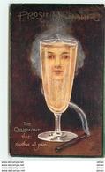 N°10023 - Carte Illustrateur - Surréalisme - The Champagne - Visage De Femme Dans Fumée De Cigarette - 1900-1949