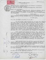 Fiscaux :  Papier Timbré 240 Francs Du 12/5/1960 Avec 1 Timbre Fiscal En Nouveau Franc - Fiscaux