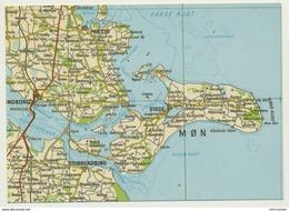 AK  Orientierungskarte Map Vordingborg Mon - Cartes Géographiques