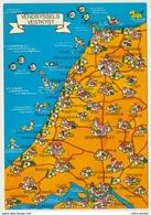 AK  Orientierungskarte Map Vendsyssel Vestkyst - Cartes Géographiques