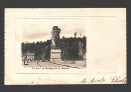 Gileppe - Le Pont Du Barrage De La Gileppe - 1902 - Relief - Gileppe (Barrage)