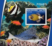 Maldives  2019  Fauna  Fishes  S202001 - Maldivas (1965-...)