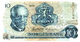 Billet >   Norvège >  10 Couronnes - Noruega