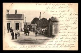 55 - COMMERCY - ENTREE DE LA GARE DE CHEMIN DE FER - EDITEUR CABASSE - Commercy