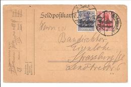 XIV Armeekorps 1.2.15 Vers Strassbourg BZ3 + BZ4 - Esercito Tedesco
