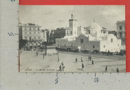 CARTOLINA NV ALGERIA - ALGER - La Mosquee El Djedid - 9 X 14 - PUBBLICITARIA Le Jeune Tailleur - Algeri