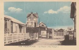 """CARTE POSTALE   PIROU-PLAGE 50  Le Chalet """"Has Perquî"""" - France"""