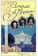 1924 TRES RARE PROGRAMME  LES 3 FRATELLINI CLOWN CLOWNS CIRQUE D HIVER  PARIS B.E.VOIR SCANS - Programs