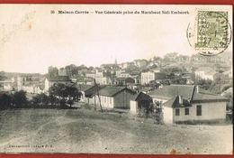 MAISON CARREE - ALGERIE- Vue Générale Prise Du Marabout Sidi Embarek- Voyagée 1927- Scans Recto  Verso- - Altre Città