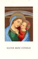 Devotie - Devotion - Mater Boni Consilii - Tournai 1946 - Images Religieuses