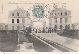CARTE POSTALE   QUERQUEVILLE 50  Caserne Du Polygone - Autres Communes