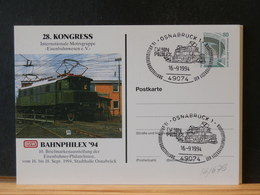 86/679  CP ALLEMAGNE OBL. 1994 - Treni