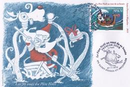 France SPM 2019  Carte Postale 1er Jour - FDC
