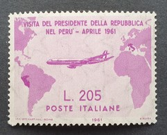 """Italy 1964, Sassone 921, MNH, """"Gronchi Rosa"""", Certificat And Signature  By Expert Diena - 1961-70: Storia Postale"""