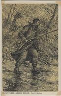 Infanterie - Armee Belge.  -   Par A Bastien.   Litho. - Guerra 1914-18