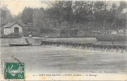 SCEY SUR SAONE : LE BARRAGE - France