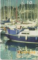 SWITZERLAND - PHONE CARD - PRÉPAID - TELELINE  ***  BATEAU / 4  *** - Boats