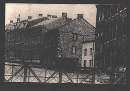 Marche-en-Famenne - Quartier De La Gare Avec Petite Maison Blanche Démolie En 37 - Photo Originale, Pas De Carte Postale - Marche-en-Famenne
