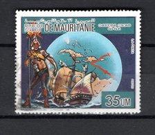 MAURITANIE   N° 589      OBLITERE   COTE 0.75€    CHRISTOPHE COLOMB - Mauritanie (1960-...)