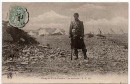 Chenove : En Sentinelle Sur Le Champ De Tir (Editeur Louis Venot, Dijon, LV) - Chenove