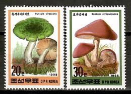 Korea North 1995 Corea / Mushrooms MNH Fungi Champignons Setas Pilze / Cu16734  33-41 - Funghi