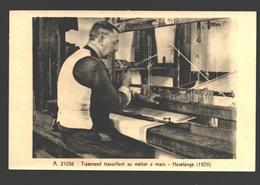 Havelange - Tisserand Travaillant Au Métier à Main - Musée De La Vie Wallonne à Liège - Havelange