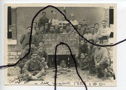 PHOTOGRAPHIE MILITAIRE. La Butte A BESANÇON . Souvenir 506 Eme RCC 22 Juillet 1927 - Guerra, Militari
