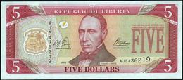 LIBERIA - 5 Dollars 2003 UNC P.26 A - Liberia