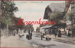 Prachtige Kaart De Panne La Panne Avenue De La Mer Geanimeerd Hondenkar Ingekleurd Colorisee 1909 (In Zeer Goede Staat) - De Panne