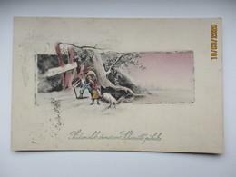 IMP RUSSIA EASTER ST. PETERSBURG RIGA 39 TPO  , OLD  POSTCARD ,0 - 1857-1916 Empire