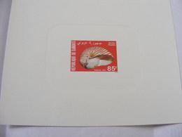 Epreuve De Luxe Timbres  Djibouti  COQUILLAGE  N°522 - Djibouti (1977-...)