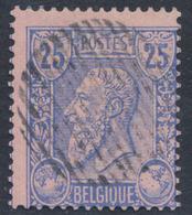 émission 1884 - N°48 Obl Rurale 18 Barres (cachet Muet). TB - 1884-1891 Leopold II