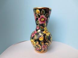 Céramique Carvin - Vase Fleurie N° 10 - Signé Carvin - 23 Cm - TBE - - Vallauris (FRA)