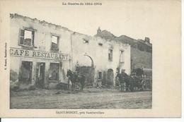 SAINT-BENOIT , PRES RAMBERVILLERS  ( Animées - CAFE-RESTAURANT ) - France
