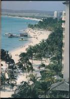 °°° 19309 - ARUBA - LOTS OF ACTIVITIES ON THE WHITE BEACHES - 1997 °°° - Aruba