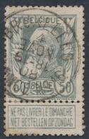 "Grosse Barbe - N°78 Obl Agence ""Bruxelles / Agence N°16"". TB - 1905 Grosse Barbe"
