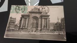 CPA -   LILLE -  Porte De Paris Côté Sud - Lille
