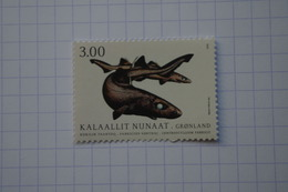5-531 Groenland Greenland Fish Poisson  Aiguillat Noir Requin Squall Iceberg Glace - Fishes