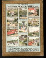 Chromo Rhum St James, Territoire De St James, Antilles - Chromos