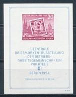 DDR Block 10 XII ** Geprüft Schönherr Mi. 50,- - Blocs
