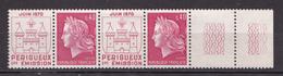 N° 1643 Inauguration De L'imprimerie Des Timbres De Périgueux: Une Paire De 2 Timbres Neuf  Impeccable - Neufs