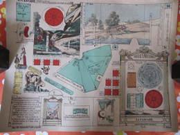 CONSTRUCTION POUR ENFANTS - PLIAGE ET DECOUPAGE - LA CASCADE - PELLERIN EPINAL - Carton : 49 X 40 Cm - Other Collections