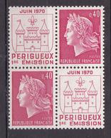 N° 1643 Inauguration De L'imprimerie Des Timbres De Périgueux: Une Paire De 2 Timbres Neuf  Impeccable - Unused Stamps
