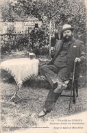 ¤¤  -   THAON-les-VOSGES   -  Madame DELAIT En Gentleman Buvant Une Bière   -  ¤¤ - Thaon Les Vosges